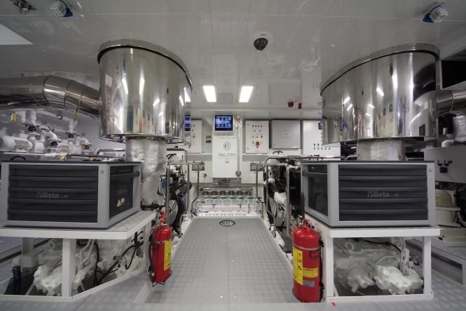 GALEGO engine room
