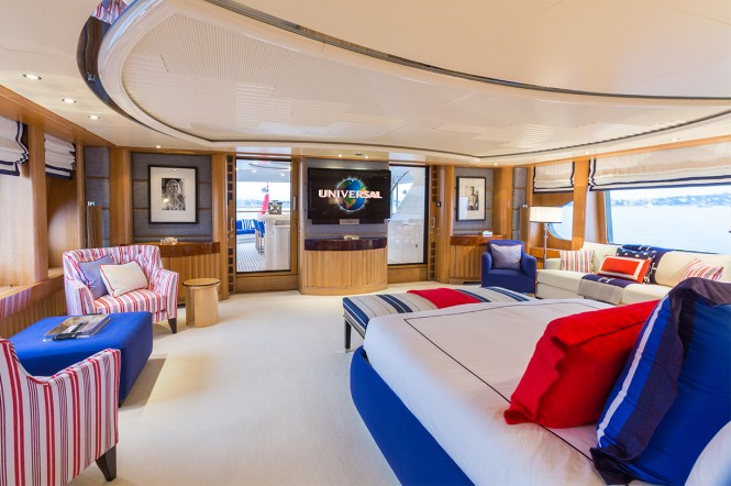 Luxury yacht AIR - Master suite