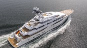 Luxury yacht ARETI - Built by Lurssen. Image credit Klaus Jordan