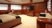 Luxury yacht BARON TRENCK - Master suite
