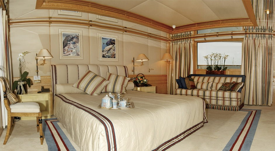 Luxury Yacht Bella Stella Master Suite Yacht Charter Superyacht News