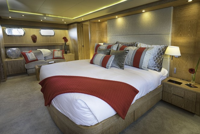 Luxury yacht GLADIUS - Master suite