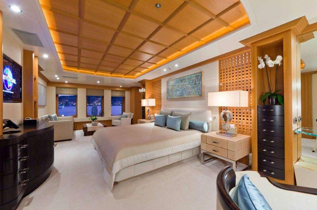 Luxury Yacht Hanikon Master Suite Yacht Charter Superyacht News