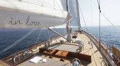 Luxury yacht IN LOVE - Forward deck