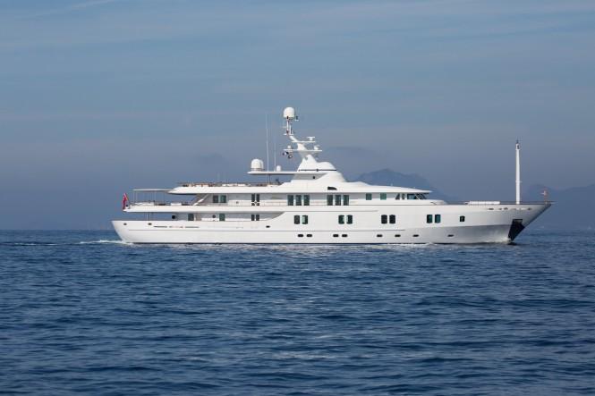 Luxury yacht KATHARINE - Built by CRN