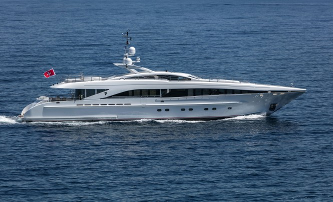 Luxury yacht L'EQUINOX - Built by Heesen