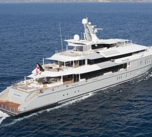 Mega yacht Mogambo available for Eastern Mediterranean charters