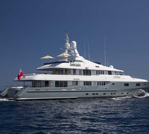 Charter luxury yacht Mosaique in the Mediterranean