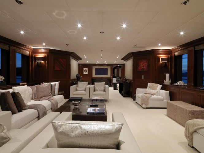 Charter superyacht my little violet throughout the for A little luxury beauty salon