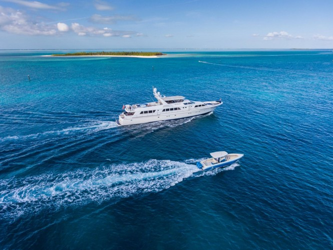 Luxury yacht NO BUOYS - Built by Abeking & Rasmussen