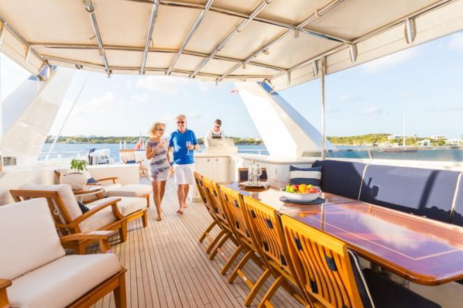 Luxury yacht NO BUOYS - Sundeck