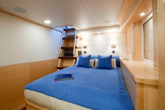 Luxury yacht NOSTROMO - Master cabin
