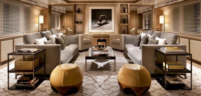 Luxury yacht ORIENT STAR - Main salon