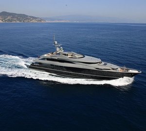 Make the Mediterranean your playground with charter yacht Sea Force One