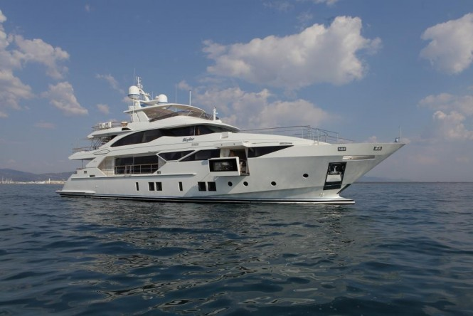 Luxury yacht SKYLER - Built by Benetti