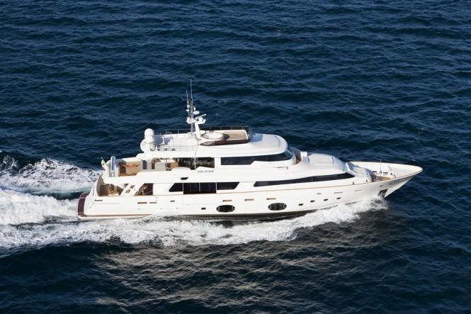 Luxury yacht ZIACANAIA - A Ferretti Custom Line 33m Crescendo Navetta