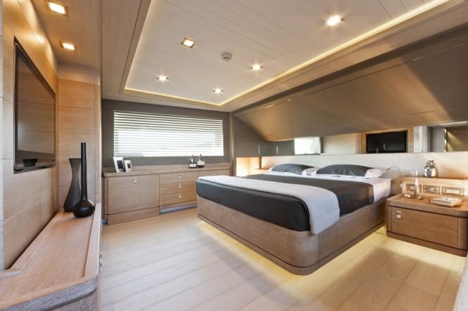 Luxury yacht ZIACANAIA - Master Suite