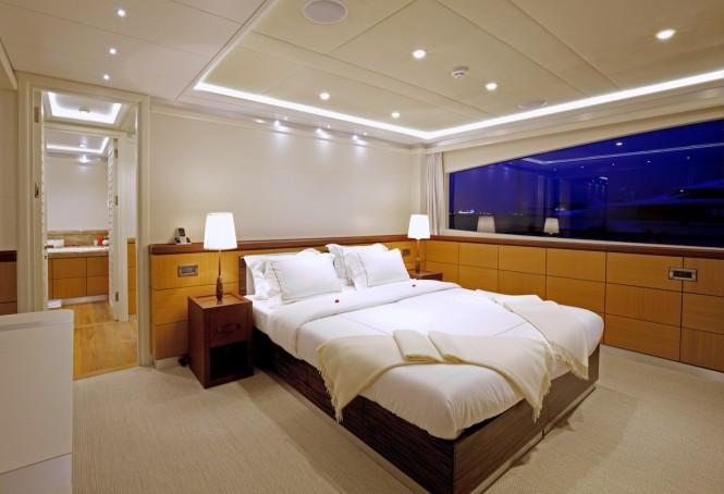 M/Y QUARANTA - Master suite