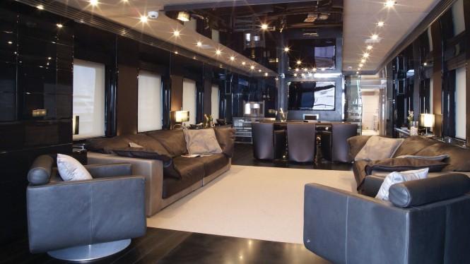 M/Y RL NOOR - Salon. Image credit Bilgin Yachts