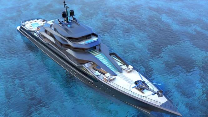Mauna Kea Superyacht concept