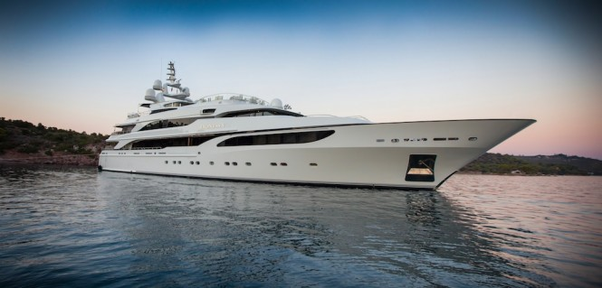 Mega yacht LIONESS V - Built by Benetti