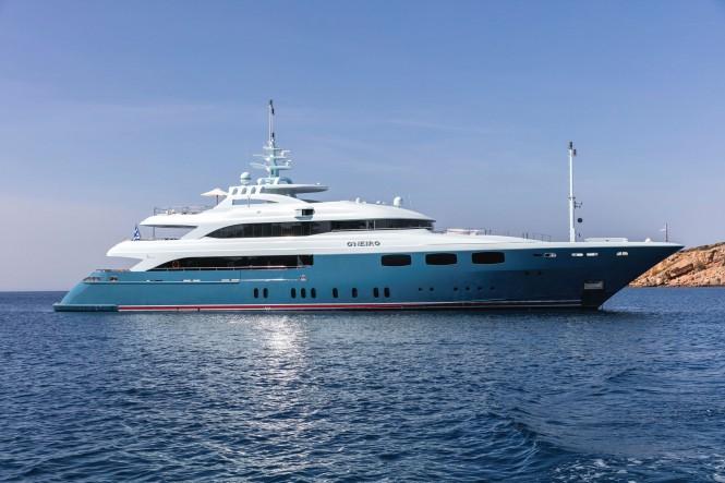 Mega yacht O'NEIRO - Built by Lamda Shipyards