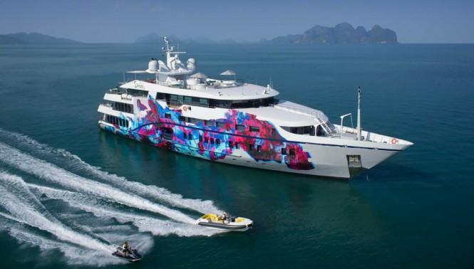Mega yacht SALUZI - Built by Austal