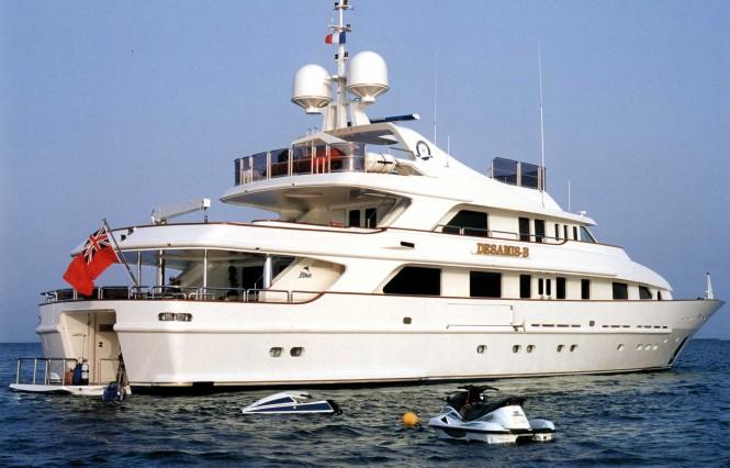 Motor Yacht DESAMIS B - Built by Benetti