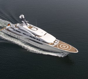 Lurssen M/Y Areti delivered to owner and to debut at the Monaco Yacht Show