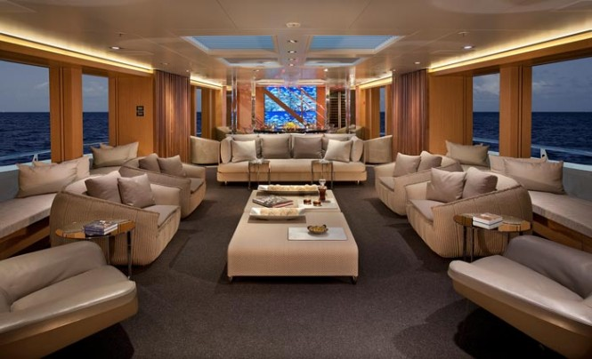 Motor yacht BIG FISH - Main salon