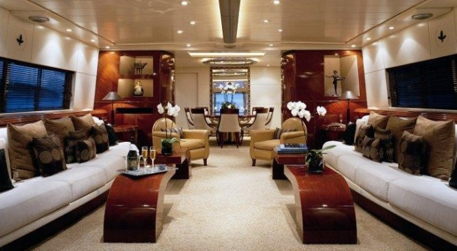 Motor yacht COSTA MAGNA - Main salon