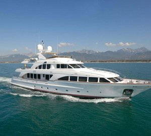 Special offer: Charter Luxury yacht Elena Nueve in the Balearic Islands