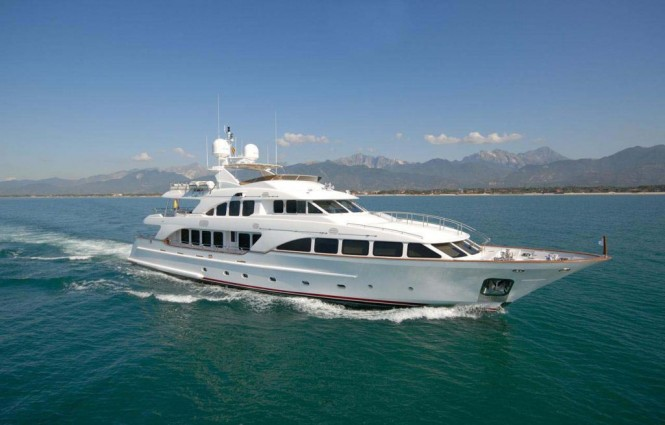Motor yacht ELENA NUEVE - Built by Benetti