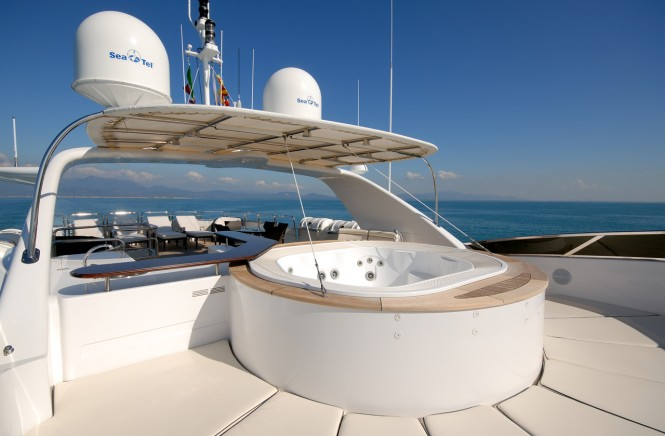 Motor yacht ELENA NUEVE - Sundeck