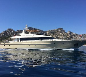 Special Rate in July for 31M West Med Charter Yacht EVIDENCE