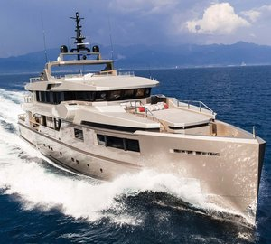 Charter award-winning M/Y Giraud in the South of France