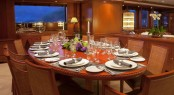 Motor yacht JO - Formal dining area