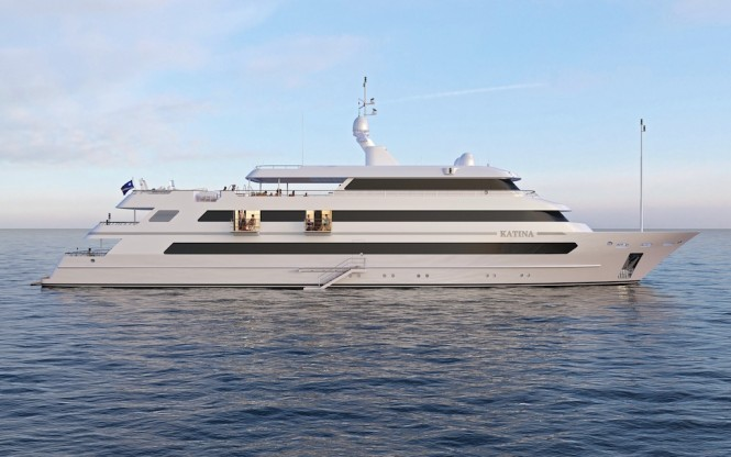 Motor yacht KATINA - Built by Brodosplit