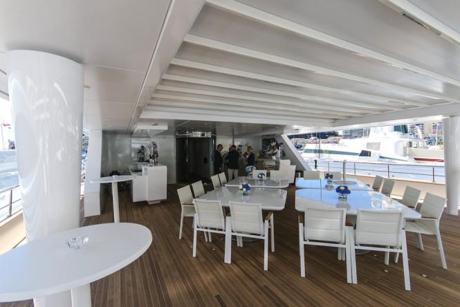 Motor yacht KATINA - Sundeck