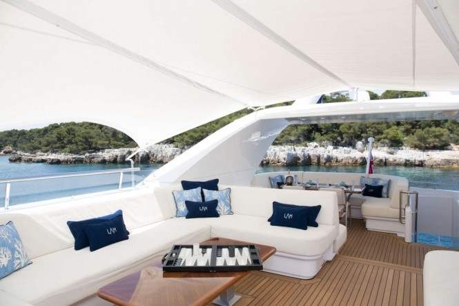 Motor yacht LA MASCARADE - Flybridge
