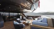 Motor yacht LUCKY ME - Main deck aft
