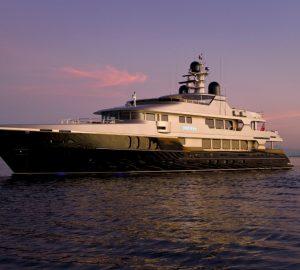 Charter motor yacht Odessa in the Western Mediterranean