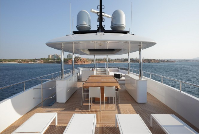 Motor yacht QUARANTA - Sundeck