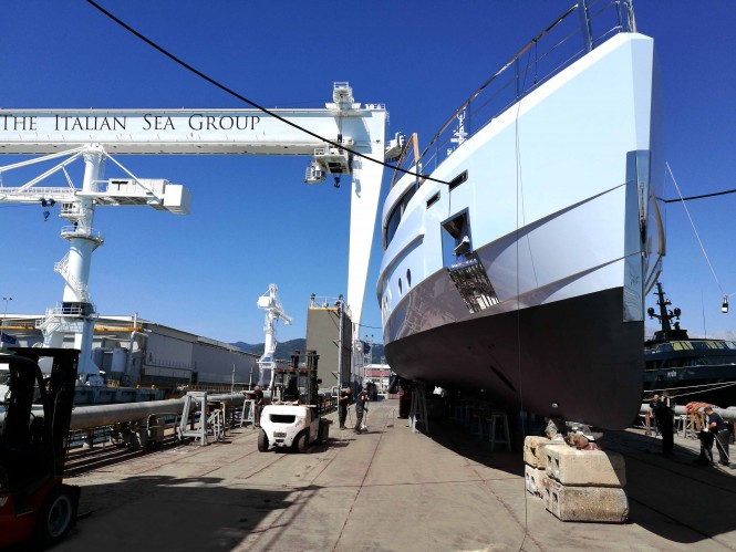 Motor yacht SAGE launched by Admiral