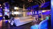 Motor yacht SEA FORCE ONE - Main salon seating area. Photo credit Luca Dini Design