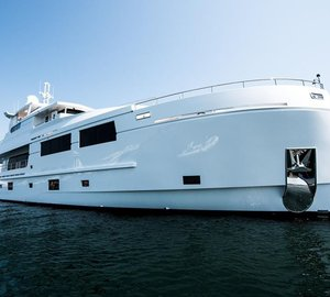 Mengi-Yay M/Y Serenitas launched and ready for Western Mediterranean charters