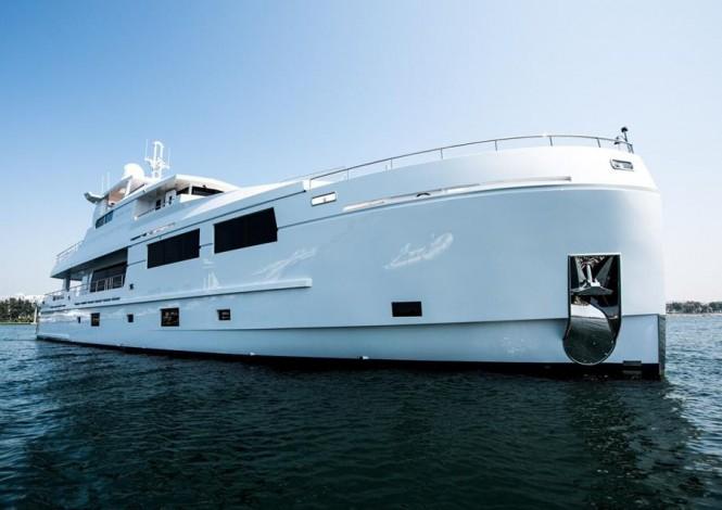 Motor yacht SERENITAS - Built by Mengi-Yay