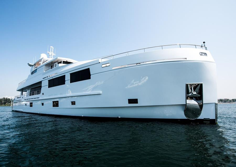 Motor Yacht Serenitas Built By Mengi Yay Luxury Yacht