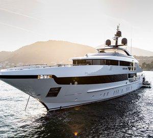 Charter brand new superyacht Seven Sins in the Western Mediterranean