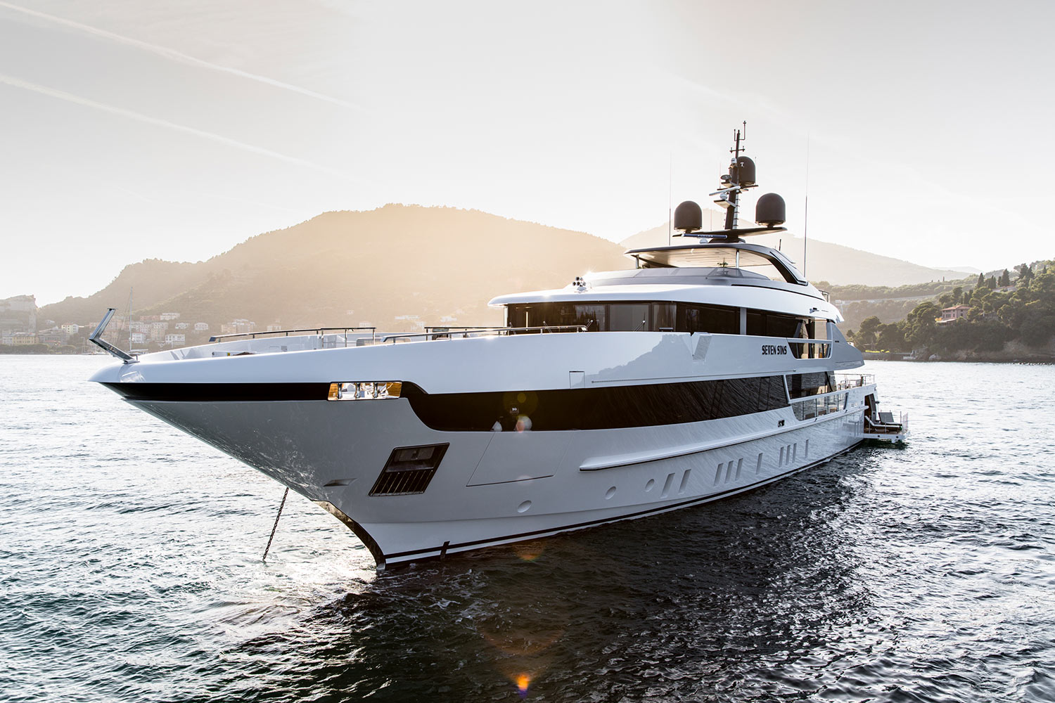 Motor Yacht Seven Sins Built By Sanlorenzo Luxury
